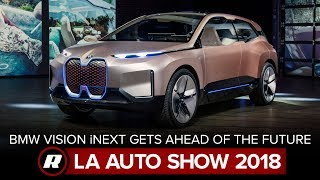 BMW Vision iNext heads full-throttle into the future | LA Auto Show 2018