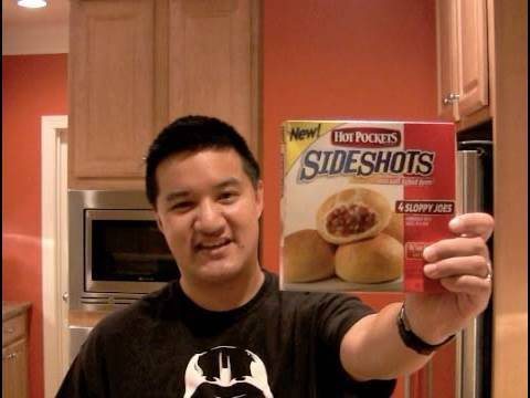 Review of Hot Pockets Sloppy Joes Sideshots: Freezerburns (Ep358)