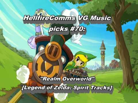 Misc Computer Games - Legend Of Zelda - Spirit Tracks - Main Overworld Train Theme