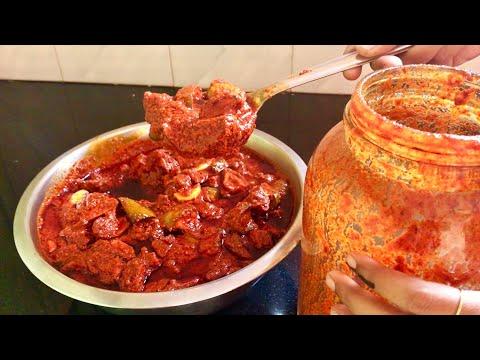 ఆంధ్రా ఆవకాయ పచ్చడి తయారీ విధానం | Mango Pickle Recipe In Telugu | How To Make Mamidikaya Pachadi
