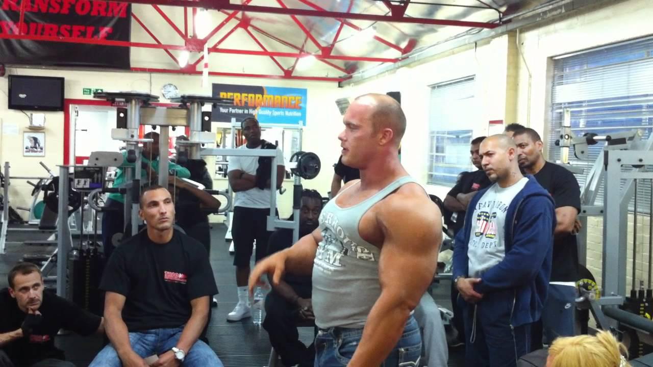 Ben Pakulski at Titanium Gym London unseen clip 6 - YouTube