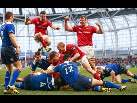 Leinster hang on to down Munster | Guinness PRO12 Highlights