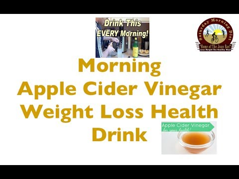 Morning Apple Cider Vinegar Weight Loss Health Drink- You ...