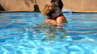Stock Footage - Love Couple in Pool | VideoHive
