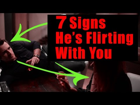 7 Subtle Signs He's Flirting With You (Matthew Hussey, Get The Guy)