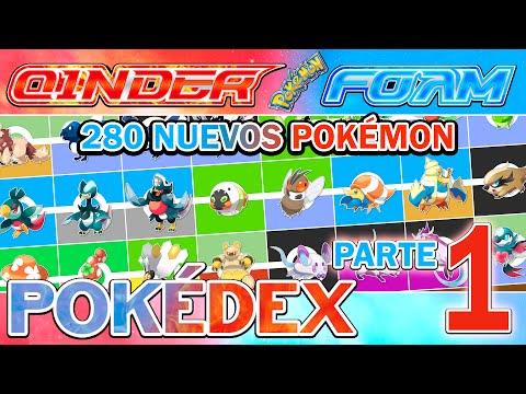 Pokédex Pokémon CINDER FOAM   280 Nuevos Pokémon Parte 1   7a Generación