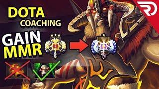 Dota 2 Coaching: Offlane Beastmaster - 3600 MMR (Map Control + Dominance)