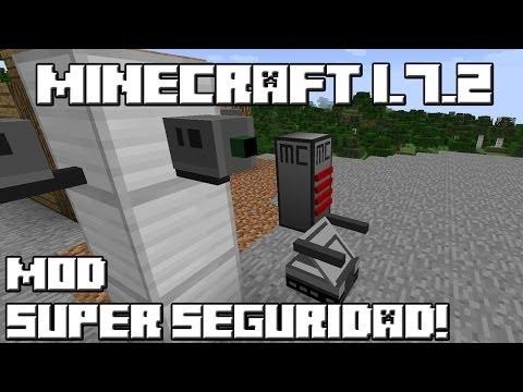 Minecraft 1.7.2 MOD SUPER SEGURIDAD!