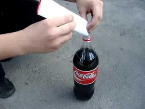 Кока кола + ментос