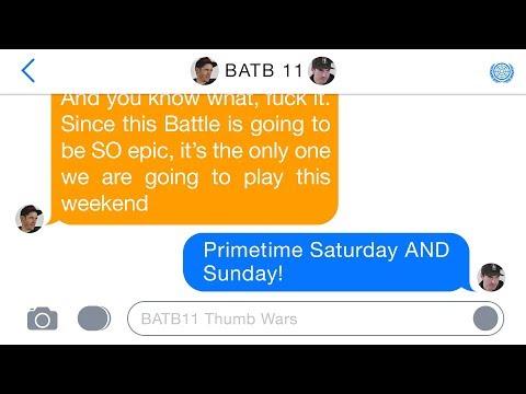 BATB 11 | Thumb Wars: Week 8