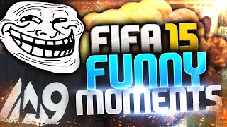 FIFA 15 - FUNNY MOMENT'S WHY ALWAYS ME!!!