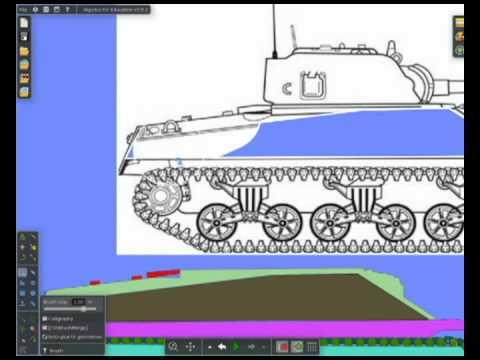 Как сделать танк algodoo - Astro-athena.Ru
