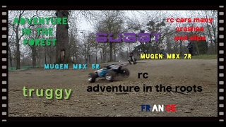 Mugen MBX 7R Buggy And MBX 5R Truggy, RC Adventure In The Vincennes Forest Of Roots,