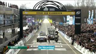 Fabian Cancellara wins Tour of Flanders 2013