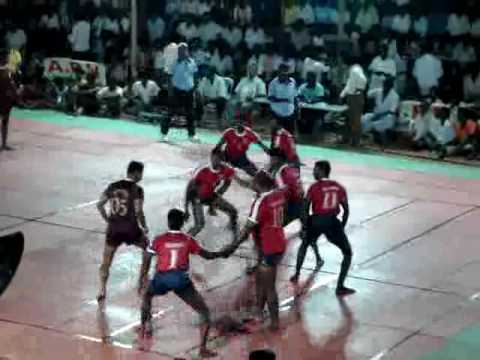 Kabaddi Match - Ariyalur Vs Coimbatore Police Team - Part2 video