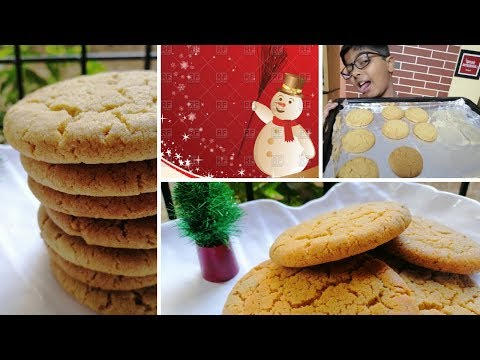 We Wish You a Merry Christmas | Whole Wheat Butter Cookies | Healthy Cookie Recipe