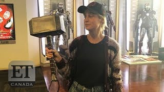 Marvel Stars React To Brie Larson Lifting Thor's Hammer