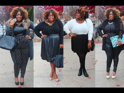 Fall 2014 Plus Size Fashion Trends Plus Size Fashion Winter Look