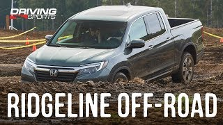 2019 Honda Ridgeline Off-Road Test