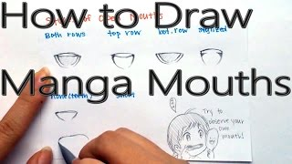 How to Draw Anime and Manga Mouths