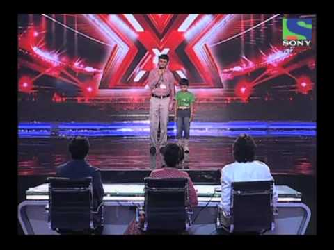 X Factor India - Amit Gupta soothingly sings Surmayee Ankhiyon...