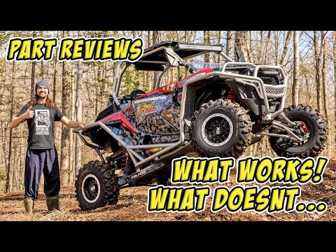 Polaris RZR XP Turbo Build - Detailed Long Term Parts Reviews - What Works + What Doesn't!