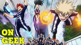 Why Powers in My Hero Academia are AWESOME - On Geek