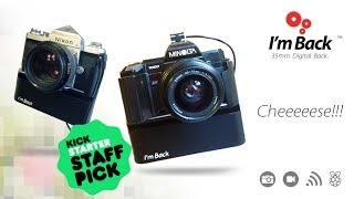 I'm Back™ Pro Low cost digital back for 35mm Analog Cameras