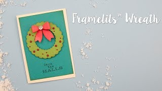 Sizzix Lifestyle - How to Make a Wreath Using Framelits