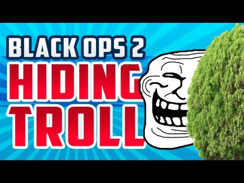 BO2: HIDING TROLL WITH HIDDEN MASTERS!