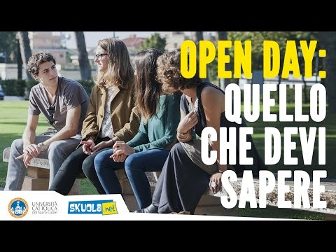 Open day all'Università Cattolica: quello che devi sapere