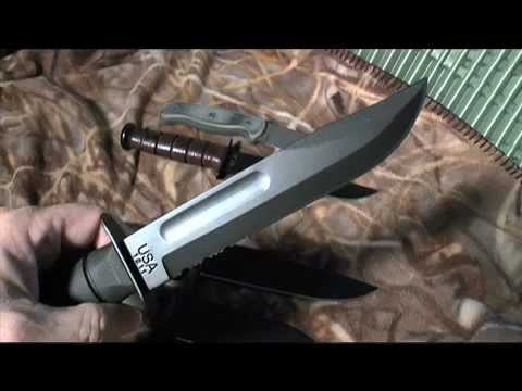 KA-BAR Fighting/Survival Knife the Standard of Excellence by Patriot Prepper