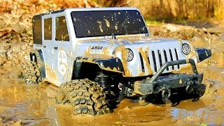 RC Extreme Pictures — RC Cars OFF Road 4x4 Adventure — Thunder Tiger Kaiser XS in MUD