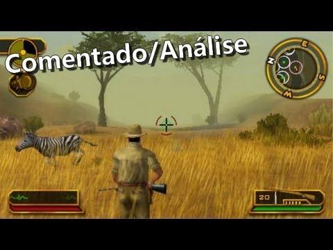 Jogo de caça pouco conhecido (acho) Cabela\'s African Safari PS2 (comentado)