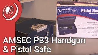 Overview - AMSEC PB3 Handgun & Pistol Safe