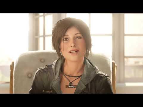 Cекретный кусок ЗАБЛОКИРОВАЛИ ПАТЧЕМ.. Лара Крофт СЦЕНА ПОСЛЕ ТИТРОВ (Shadow of the Tomb Raider)