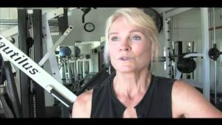 GALE MCMAHON: 65-year old bodybuilder trained by Marie Raia