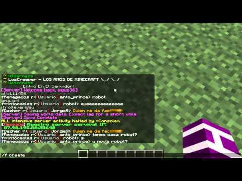 Server Minecraft Joselandia Creative 1 4 2