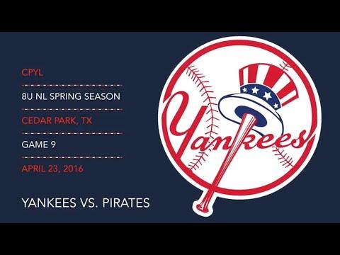 2016.04.23 Yankees vs. Pirates