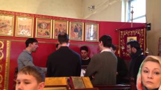 Male Choir The Holy Martyrs Russian Orthodox Church In Brooklyn