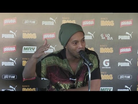 Ronaldinho reflects on stellar career
