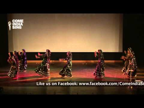 "Dance Performance: ""Medley of Folk Dances"" by students of Sehwag International School"