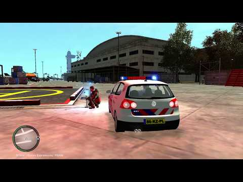 GTAIV Nigel007 Dutch Police and Siren