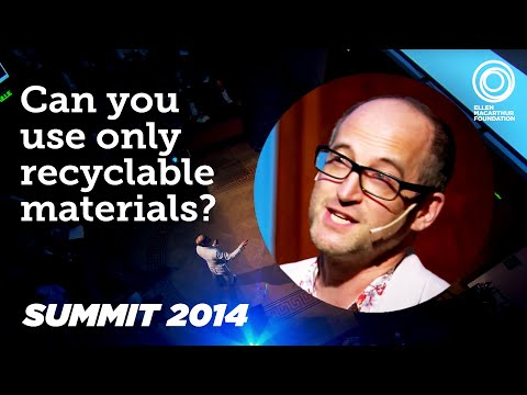 Mark Miodownik, Materials innovation, CE100 Annual Summit 2014