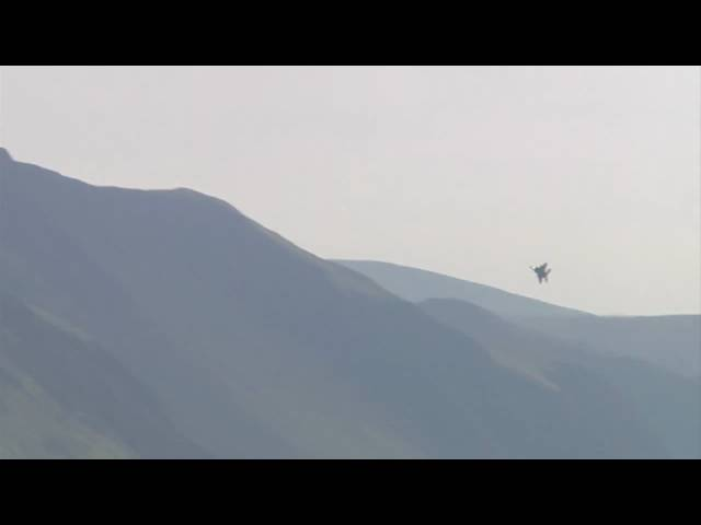 Mach Loop - F15E Strike Eagle Pass of Cad West