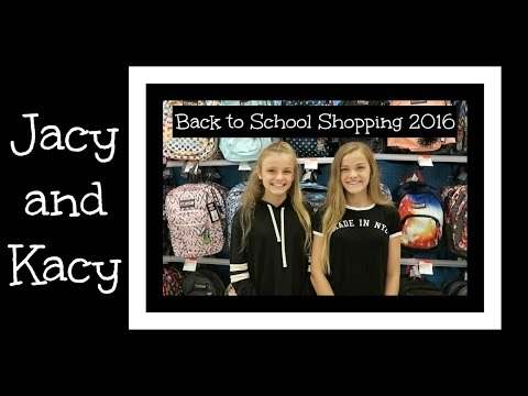 Back to School ~ Supply Shopping 2016 ~ Jacy and Kacy