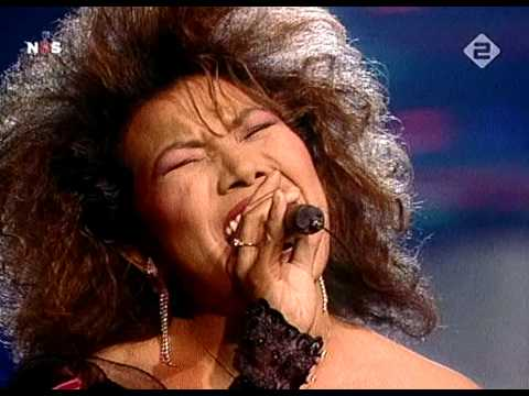Justine Pelmelay - Blijf zoals je bent HD - Eurovision Song Contest 1989 - Netherlands 06-05-89