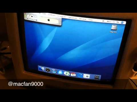 Apple iMac G3 - slot load drive