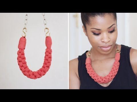 DIY | Straight Knot Necklace
