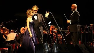 Jordanie: Andrea Bocelli chante au milieu des ruines de Jerash